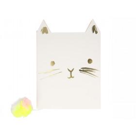 Meri Meri Notebook CAT
