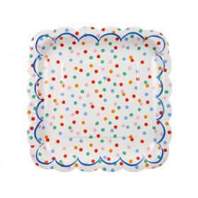 Meri Meri Toot Sweet Spotty Plate large
