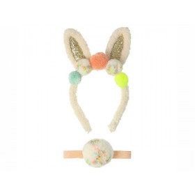 Meri Meri Dress-Up POMPOM BUNNY 3-6 yrs