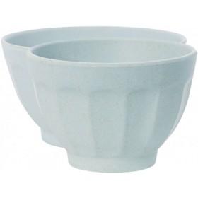 Miss Étoile bowl bamboo melamine french light blue