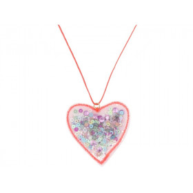 Meri Meri Necklace HEART SHAKER