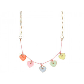 Meri Meri Necklace ENAMEL HEARTS
