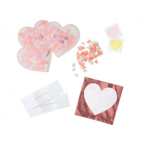 Meri Meri Shaker Favors LOVE HEARTS