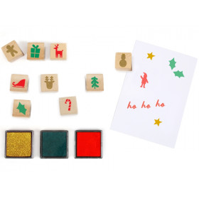 Meri Meri Advent Calendar with INK STAMPS