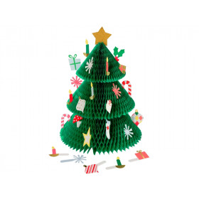 Meri Meri Honeycomb Advent Calendar XMAS TREE