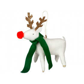 Meri Meri Felt Tree Decoration REINDEER