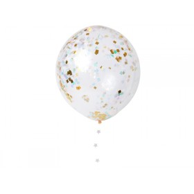 Meri Meri Confetti Balloon Kit iridescent