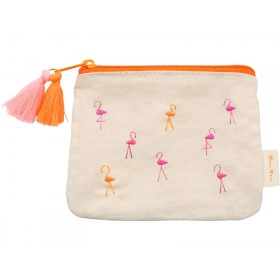 Meri Meri Coin Purse FLAMINGO