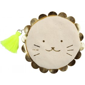 Meri Meri Coin Purse LION gold