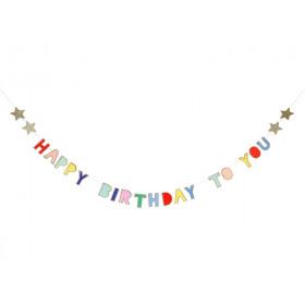 Meri Meri Mini Garland Happy Birthday To You