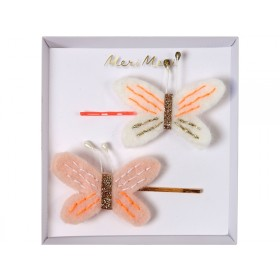 Meri Meri Hair Pins Butterflies