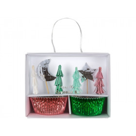 Meri Meri Cupcake Kit XMAS TREE