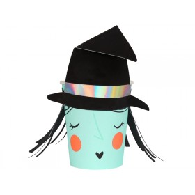 Meri Meri Party Cups SPOOKY WITCH