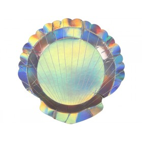 Meri Meri Party Plates Shell small