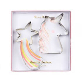 Meri Meri Cookie Cutters STAR & UNICORN
