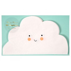Meri Meri Napkins Cloud