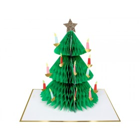 Meri Meri Christmas Card XMAS TREE
