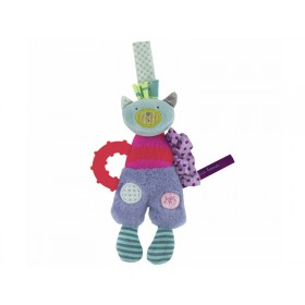 Moulin Roty teething ring Cat