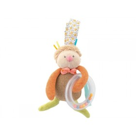 Moulin Roty ring rattle firefly