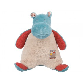 Moulin Roty rattle hippo