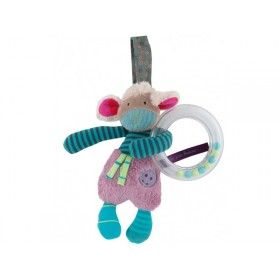 Moulin Roty rattle ring sheep