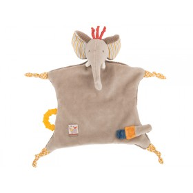 Moulin Roty cuddly cloth elephant les Papoum