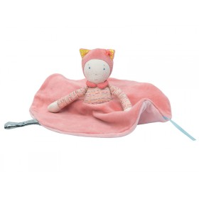 Moulin Roty cuddly cloth doll Mademoiselle et Ribambelle
