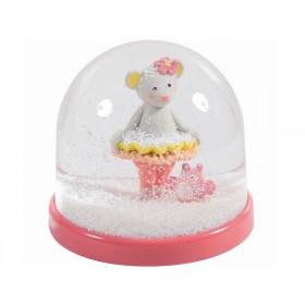 Moulin Roty snow globe Mademoiselle et Ribambelle