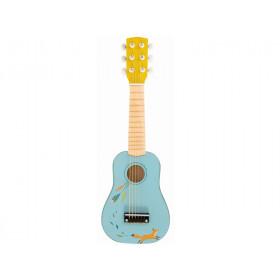 Moulin Roty Guitar FOX light blue