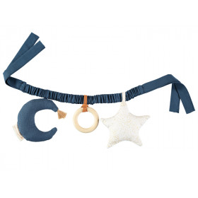 Nobodinoz Stroller Activity Chain STAR & MOON