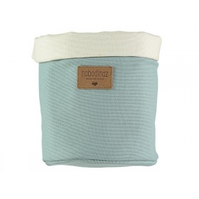Nobodinoz Tango Storage Basket RIVIERA BLUE small