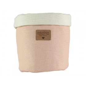 Nobodinoz Tango Storage Basket BLOOM PINK small