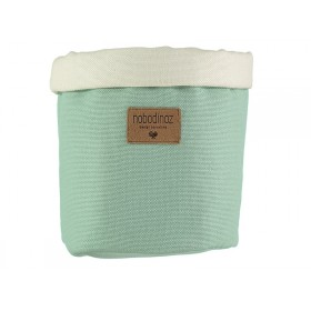 Nobodinoz Tango Storage Basket PROVENCE GREEN medium