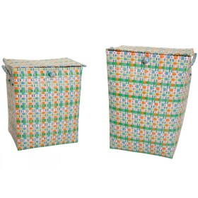 Overbeck and Friends laundry basket Sam