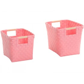 Overbeck and Friends punnets pastel pink