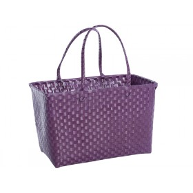 Overbeck and Friends bag aubergine