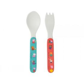 Petit Jour Kids Cutlery Set PEPPA PIG