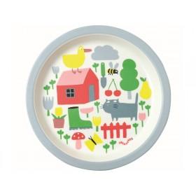 Petit Jour Melamine Plate COUNTRYSIDE