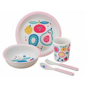 Petit Jour Melamine Tableware Set TUTTI FRUTTI