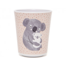 Petit Monkey Melamine Cup KOALA light pink