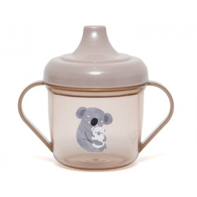 Petit Monkey Spout Cup KOALA pink