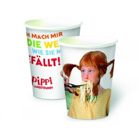 Pippi Longstocking party cups