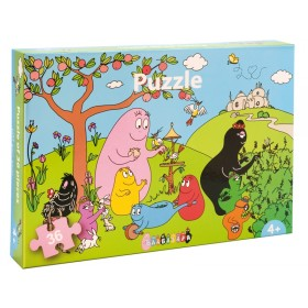 Petit Jour Barbapapa Puzzle 36 Pieces