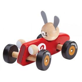 PlanToys racing car RABBIT RED