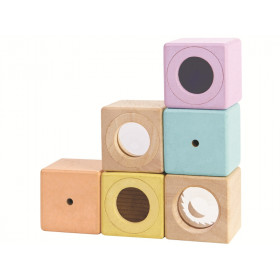 PlanToys Sensory Blocks PASTELL