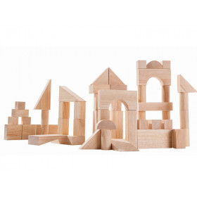 PlanToys 50 Wooden Blocks UNIT