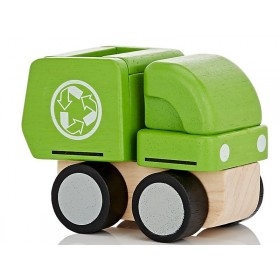 Plantoys Mini Vehicle GARBAGE TRUCK