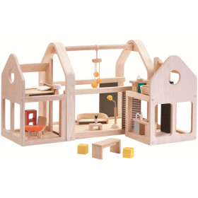 PlanToys Dollhouse SLIDE N GO