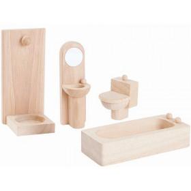 PlanToys Dollhouse Bathroom CLASSIC