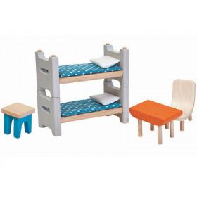 PlanToys Dollhouse Childrens Room